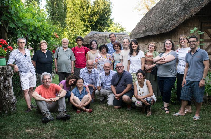 Foto dei fondatori della Libera Università del Gioco.