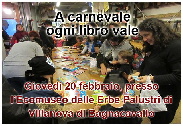 A Carnevale ogni libro vale