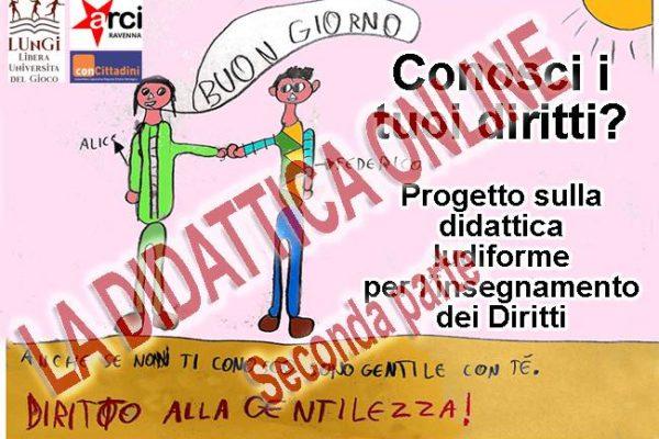 Didattica online ludica, un diritto dei bambini.